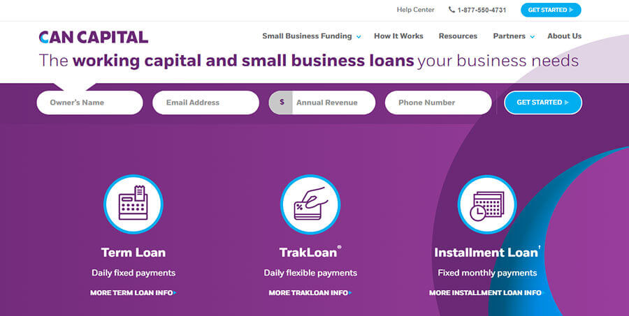 CAN Capital Homepage