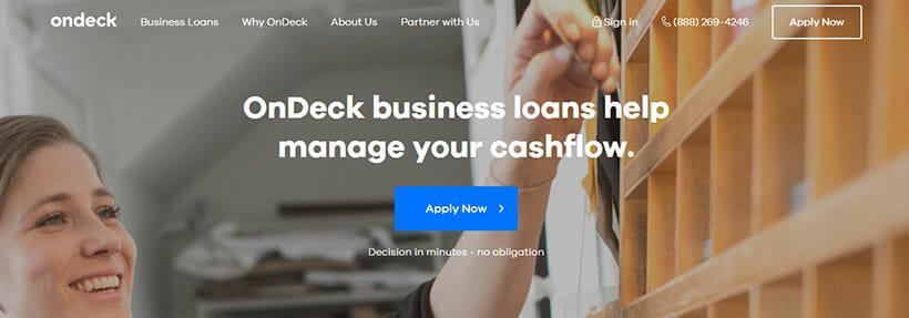 OnDeck Homepage