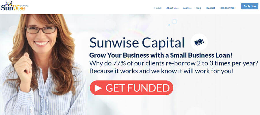 SunWise Capital Homepage