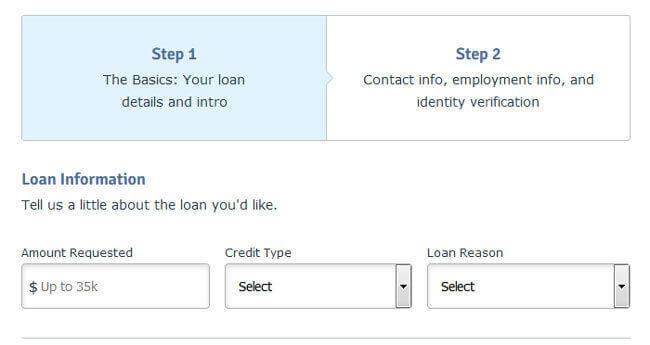 Signature Loan request